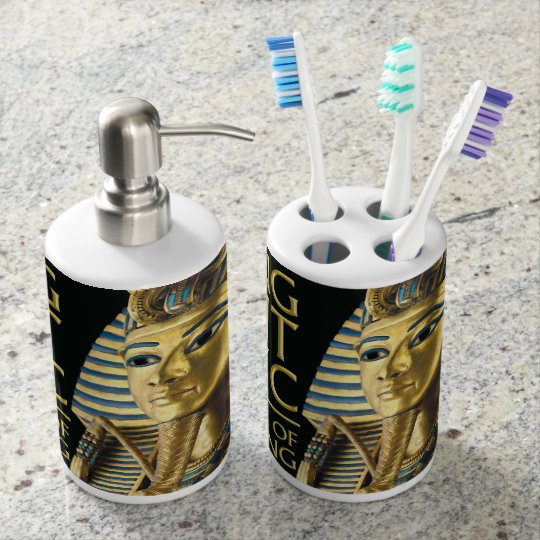 King Tutankhamun Bathroom Set
