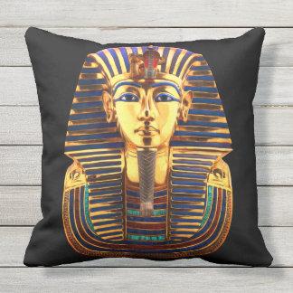 King Tutankhamun, Gold Mask Throw Pillow