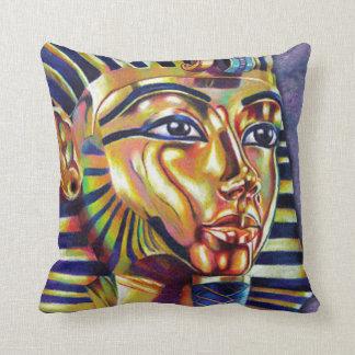 King Tutankhamun Throw Pillow