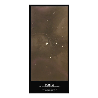 """King"" Value Bookmarks Rack Card"