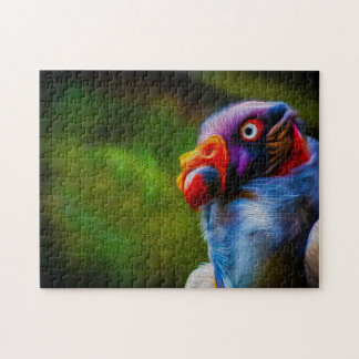 King Vulture 02 Digital Art - Photo Puzzle