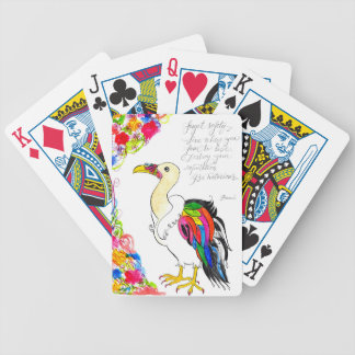 King Vulture Bicycle Playing Cards