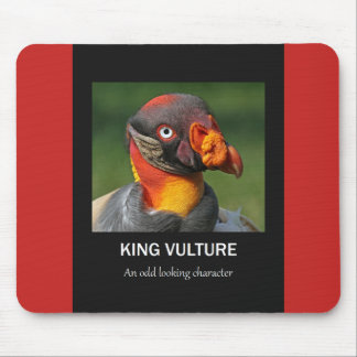 King Vulture - Odd Character Mouse Pad