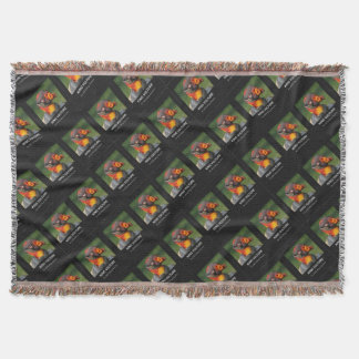 King Vulture - Odd Character Throw Blanket