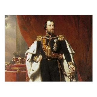 King Willem III of the Netherlands - Pieneman Postcard