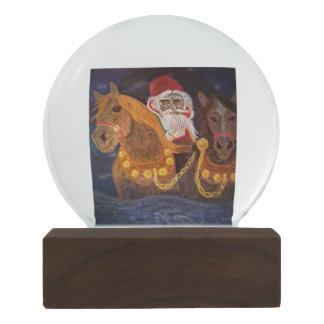 King Winter Has Arrived Snow Globe