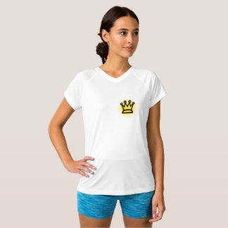 King Women's Champion Double-Dry V-Neck T-Shirt