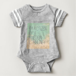 Kingdom Citizen Baby Bodysuit