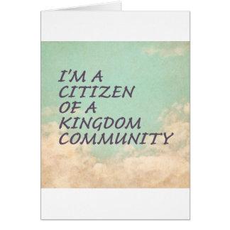 Kingdom Community Card