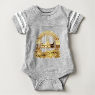 Kingdom Community Crown Baby Bodysuit