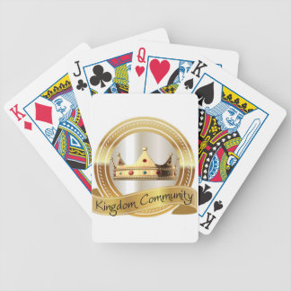 Kingdom Community Crown Bicycle Playing Cards