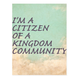 Kingdom Community Postcard
