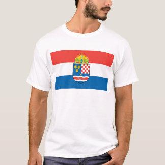 Kingdom of Dalmatia Croatia and Slavonia Flag T-Shirt