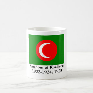 Kingdom of Kurdistan Flag (1922-1924, 1925) Classic White Coffee Mug