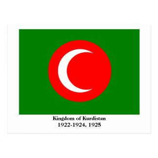 Kingdom of Kurdistan Flag (1922-1924, 1925) Postcard