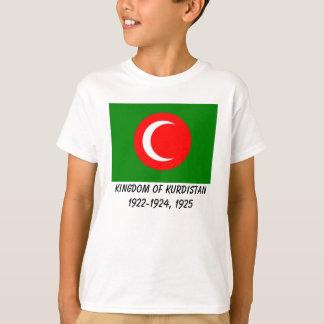 Kingdom of Kurdistan Flag (1922-1924, 1925) Tee Shirt