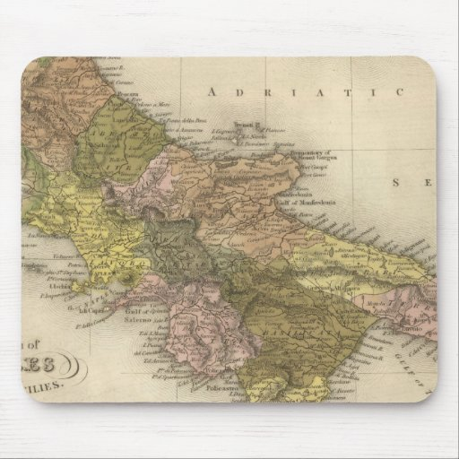 Kingdom of Naples or The Two Sicilies Mouse Pads