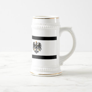 Kingdom of Prussia national flag Beer Stein