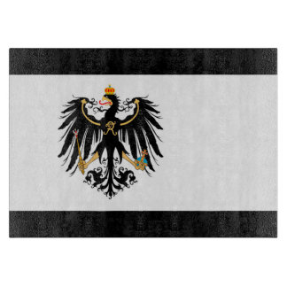 Kingdom of Prussia national flag Cutting Board