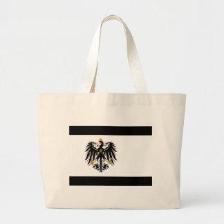 Kingdom of Prussia national flag Large Tote Bag