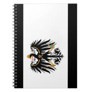 Kingdom of Prussia national flag Notebooks
