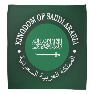 Kingdom of Saudi Arabia Bandana
