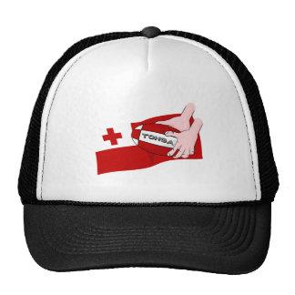 Kingdom of Tonga Tongan Rugby Flag Trucker Hat