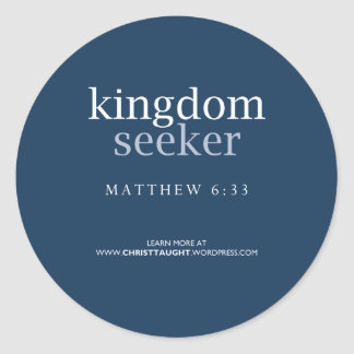 Kingdom Seeker Sticker