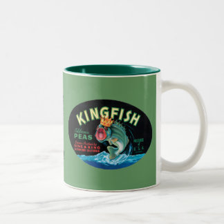 Kingfish Peas Two-Tone Coffee Mug