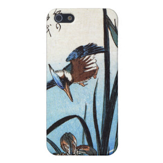Kingfisher and Lilies, Hiroshige Case For iPhone 5/5S