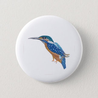 KingFisher Bird 2 Inch Round Button