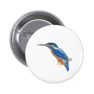 KingFisher Bird 2 Inch Round Button