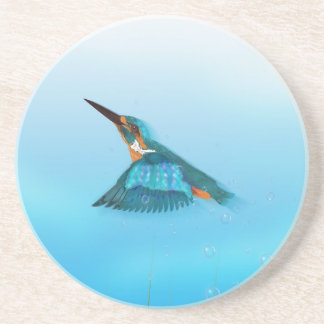Kingfisher Bird Coaster
