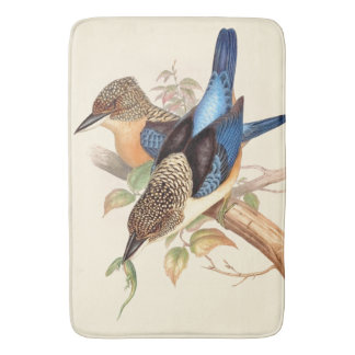 Kingfisher Birds Wildlife Animals Pond Bath Mat