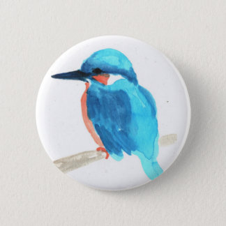Kingfisher Button Badges