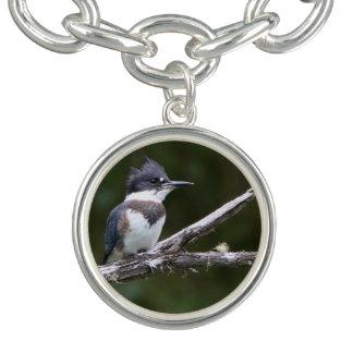 kingfisher charm bracelet