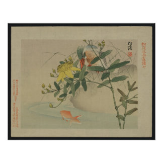 Kingfisher - Japanese Print