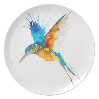 Kingfisher Plate