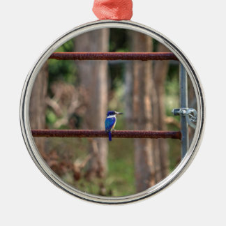 KINGFISHER RURAL QUEENSLAND AUSTRALIA METAL ORNAMENT