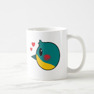 Kingfisher Valley White Mug