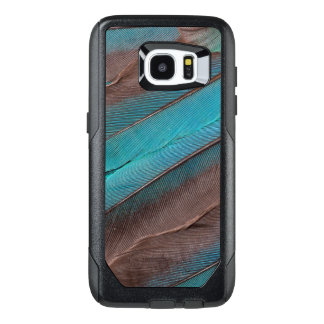 Kingfisher Wing Feathers OtterBox Samsung Galaxy S7 Edge Case