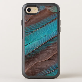 Kingfisher Wing Feathers OtterBox Symmetry iPhone 8/7 Case