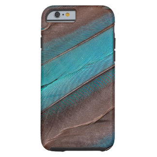 Kingfisher Wing Feathers Tough iPhone 6 Case
