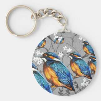 Kingfishers in the tree keyring