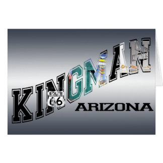 kingman arizona route 66 card