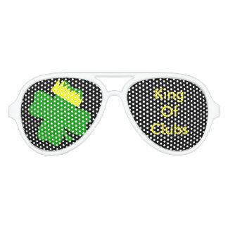 KingofClubs Original White Party Glasses Party Sunglasses