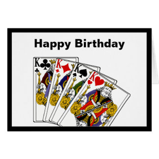 Kings Birthday Greeting Card