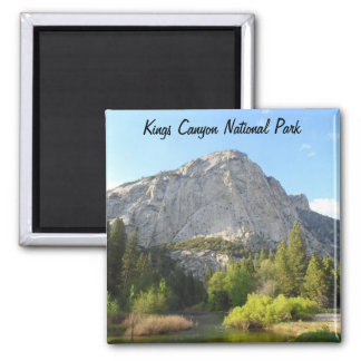 Kings Canyon National Park Square Magnet