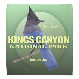 Kings Canyon NP (Steller's Jay) WT Bandana