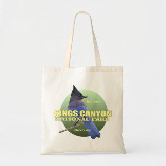 Kings Canyon NP (Stellers Jay) WT Tote Bag